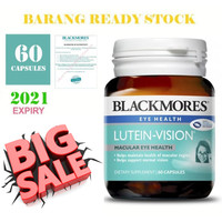 Blackmores Lutein Vision, Maintains Macular Eye Health, 60 Capsules