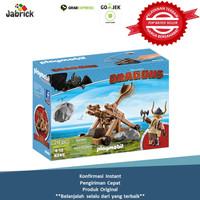 Playmobil 9245 DreamWorks Dragons Gobber with Catapult