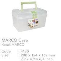Kotak Plastik / P3K / Obat / Mini 4WD / Alat Tulis / Green Leaf 4131