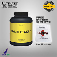 SYNTHA GOLD, 5 Lbs Chocolate - ULTIMATE NUTRITION.