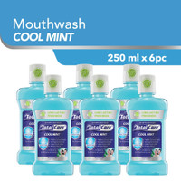 [Grosir] Total Care Mouthwash Cool Mint 8 Protection [250 mLx6PC]