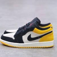 Nike Air Jordan 1 Low Black Gold 100% Authentic
