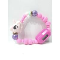 Jam Tangan Anak Gelang Animal Magic Pet Beads Unicorn