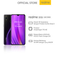 realme 3 Pro 6+128 GB (Prosesor Snapdragon 710 AIE VOOC Flash Charge)