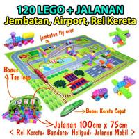 MAINAN LEGO - JALANAN LEGO - MAINAN EDUKASI - Lego City Of Brick