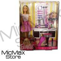 High Quality Barbie Fashionistas Make Up Set Mainan Original Asli