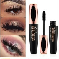 60c07d1085d 4D Silk Fiber Lash Mascara Waterproof Rimel 3d Eyelash Extension Black