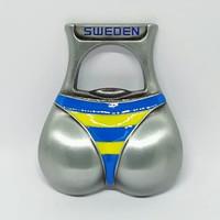 Souvenir magnet kulkas Sweden negara Swedia Eropa