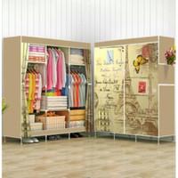 Lemari Pakaian Jumbo R30 Besar / Lemari Baju Portable Horizontal