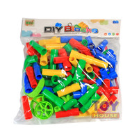 Mainan Lego plastik Bricks Blocks Model Pipa Roda Mainan Edukasi
