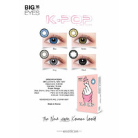 Softlens X2 K-POP / Soflens K - POP Big Eyes 16mm by Exoticon Kpop