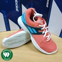 Sepatu Babolat PULSION Junior All Court / Babolat Pulsion Jr Pink/Blue