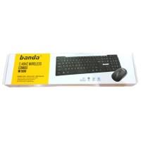 Banda W500 Wireless Combo Keyboard Mouse - Bundle