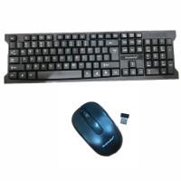 Banda W200 Wireless Keyboard Mouse Combo - Paket Keyboard Mouse