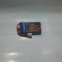 Lipo Battery Dinogy Nano-Tech 2S 450mAh 7.4V 65C XT30