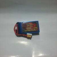 Lipo Battery Dinogy Nano-Tech 2S 600mAh 7.4V 65C XT30