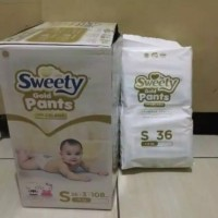 Sweety Gold Pants S36 Tipe Celana S 36