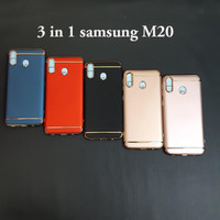 Samsung M20 3 in 1 chrome case