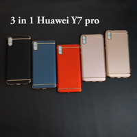 Huawei y7 pro 3 in 1 chrome case