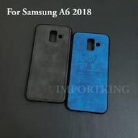 Samsung A6 2018 JEAN CANVAS DEER MOTIF CASE