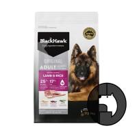 blackhawk 3 kg dog all breeds original lamb and rice