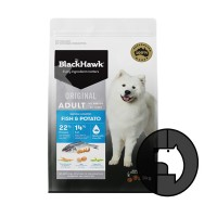 blackhawk 3 kg dog all breeds original fish and potato