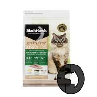 blackhawk 1.2 kg cat chicken and turkey all breeds grain free