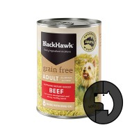 blackhawk 400 gr dog australian pasture grazed beef grain free