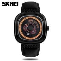 SKMEI Jam Tangan Analog Pria - 9129 - hitam