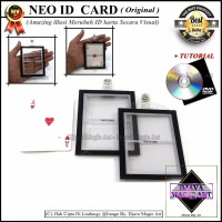 HARGA HEMAT NEO ID CARD ORIGINAL New Art Gimik Magic Alat Sulap