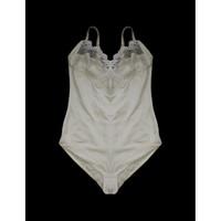 Bodysuit See Through White Lace