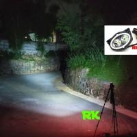 LAMPU ANGEL EYE LED SOROT OUTDOOR WATERPROOF UNTUK MOTOR DAN MOBIL