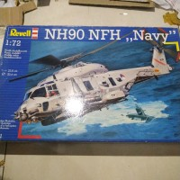 revell helicopter Nh90 NFH navy 1/72 modelkit high detail part
