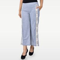 SEYES YN7988 Cullote Pants Celana Kulot Wanita Premium Grey