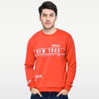 SEYES S1114 Sweater Sweatshirt Baju babyterry Premium Merah