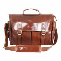 Messengger Leather Bag Lintang Havana - Kenes leather