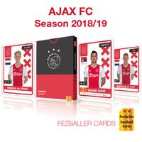 Kartu Bola Fezballer Cards edisi team AJAX FC eredivisie season 2018/2