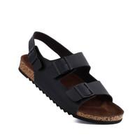 SANDAL SEPATU PRIA TRAGEN OSAKA BLACK TRAGEN FOOTWEAR 100% ORIGINAL