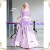 Grosir Dress murah / Gamis busui / Baju Muslim wanita baru: Zalea maxi