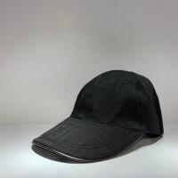 de92b68092c9ec TOPI FENDI HAT CANVAS BASEBALL CAP BLACK 1:1 AUTHENTIC NOT GUCCI