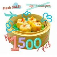 Dimsum per pcs Dim Sum 239 Ayam aneka topping isian Depok Jakarta ASLI
