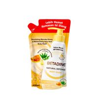 BETADINE Body Wash Manuka Honey Refil 400 mL