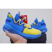 sepatu basket UA curry 6 curry6 low 3pt contest grade original