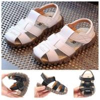 SPT09 - Sepatu sandal polos walker shoes anak balita kids toddler