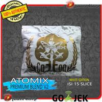 Authentic ATOMIX WHITE PREMIUM BLEND V2 Kapas Organik - WHITE EDITION