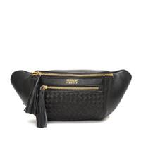 Gobelini Filo Waist Bag Breaded Bag Black
