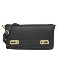 Gobelini W. Salma Clutch Patent Bag Black