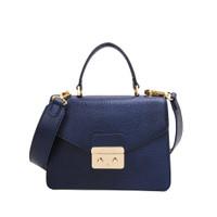 Gobelini Lauria Top Handle Bag Blue