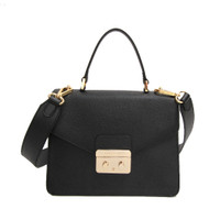 Gobelini Lauria Top Handle Bag Black