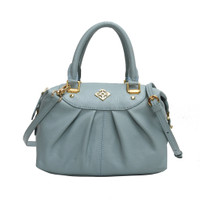 Gobelini W. Ivone Mini Boston Bag Blue Sky